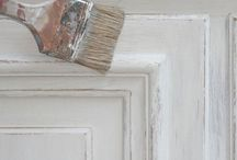 Patines et peintures