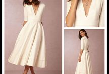 Wedding dress simple