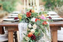 Beautiful Tablescapes / Ideas for your wedding tables.