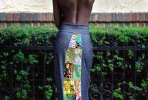 faldas africanas