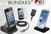 Holiday Gifts  / Check out this easy and affordable gift idea!! Impress all the smart phone addicts on your list this year with holiday cell phone bundles. Battery, charger, case, and stylus... all in one simple swoop!!
