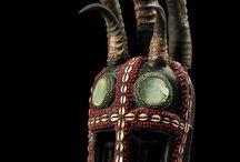 Ebony Land Masks