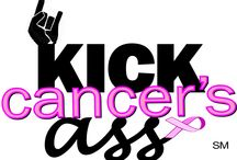 KICK CANCER'S ASS / The new campaign I launched in January 2015 to raise awareness and research funds to eliminate women's-related cancers.