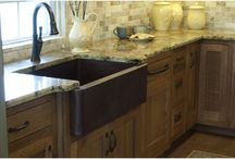 Simply Captivating: Copper Apron-front Kitchen Sinks