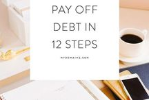 Get Out of Debt Tips / Let's become debt free!! Learn how to get out of debt with these tips and tricks.