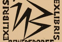 ex libris Ullrich Bewersdorff (Germania, 1920-2008)