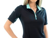 Charlotte Short Sleeve / Our signature Charlotte shirt is perfect for walking, hiking, tennis or for an evening out on the town. You'll find the ultra-comfortable blend of 88% nylon/12% spandex, with mesh inner sleeves, cool and stylish for anywhere the day takes you.
