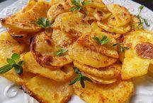 zemiakové a zelenina