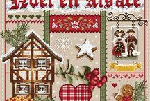 Alsace cross stitch