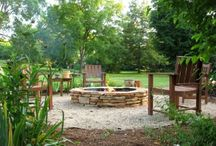 Fire Pit Patio Ideas / by Amanda Jo Reisenweber