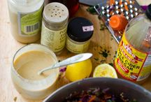 Sauces,Dressings,Dips / Mostly Vegan and Vegetarian versions. / by QueenBee