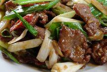 Mongolian menu