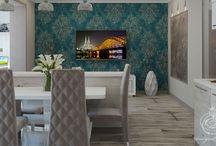 Дизайн интерьера современной квартиры в стиле модерн / Пожелания заказчика: создать современный дизайн интерьера квартиры в стиле модерн с минимумом ограничений, максимально открытый и максимально светлый.