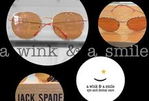Jack Spade at a wink & a smile / The latest eyewear fashions from Jack Spade available at a wink & a smile. www.eyeanddentalcare.com