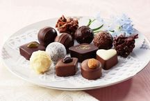 Cioccolatini tartufi e caramelle - chocolate truffles and candies