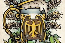 Print【Germany beer】