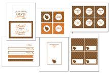 Thanksgiving / Thanksgiving Printables