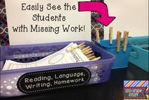 Classroom Management and Organization Ideas