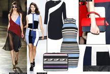 Color-Block Inspiration / Color-block fashion design inspiration for men & women.