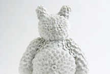 Ceramic Paperclay Art Sculpture: / A collection of the best paper clay sculpture out there...ahem...in here on the net.
