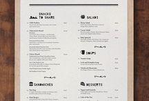 Menu • Design Gráfico