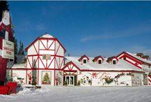 casa de santa en polo  norte