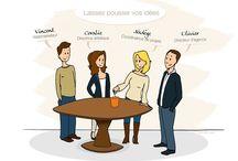 La vie de l'agence OR-COM! / Dans ce tableau vous retrouverez la vie de l'agence.