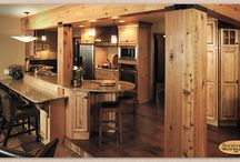 Knotty Maple Remodel - Showplace Cabinets / Covington Door Style