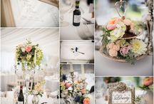 Wedding reception room decor / Details and room decor at wedding receptions