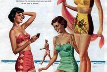 Vintage Swim Ads