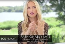 Fashionably Late / Get a behind-the-scenes glimpse at my new talk show 'Fashionably Late with Rachel Zoe' and shop the looks spotted on each episode / by Rachel Zoe