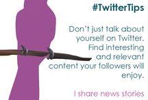 Social Media Tips / Find more tips at www.northeastsocialmedia.co.uk/twitter-tips