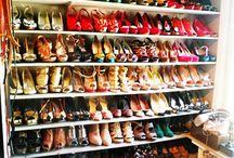 The closet  / Idéer för garderoben.