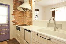 キッチン / かわいい家photoに掲載されたキッチンの写真