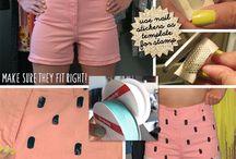 DIY ubrania