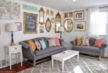 Living room & Entry way / by Danielle Bernier