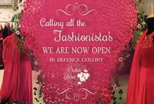 Store , Now Open / Flagship Store at Defence Colony , New Delhi .