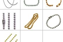 Brass Chains / Brass and Metal Chains, have diverse application in the production of bracelets, bags straps, apparels and others. The company manufactures and supplies Metal Chains using different metals, such as Brass Ball Chains and Aluminium Chains. These Metal Chains are available in different thickness and sizes. We make available Metal Chains in attractive designs and composition.