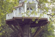 Beautiful Treehouses / by Jackie Pena