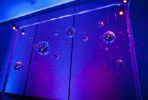 LED Theme Bar Mitzvah / LED Decor for a Felici Events Bar Mitzvah
