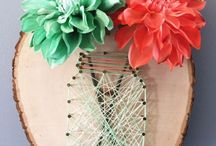 Spago - string art
