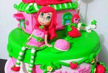 Baby girls cake / Baby girls cake