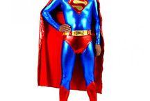 Superman Cosplay Costumes/Zentai Suits