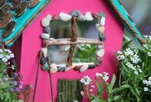 FAIRY HOUSES/GARDENS / by Linda Fornshell