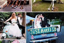Wedding Car Cans