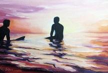 Surf & Beach Art