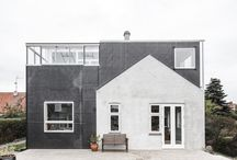 our architectural projects / At werkt we want to share our projects so you can find inspiration in them! Architecture extension and renovations, both exterior and interior fills this board. We love the scandinavian and danish design!
