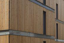 rivestimento facciata legno