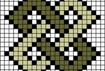 σχέδια για σταυροβελονιά ή wayuu