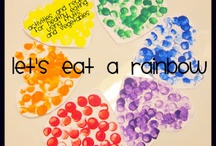 Let's eat a rainbow / Nutrition education resources for schools to promote healthy eating.